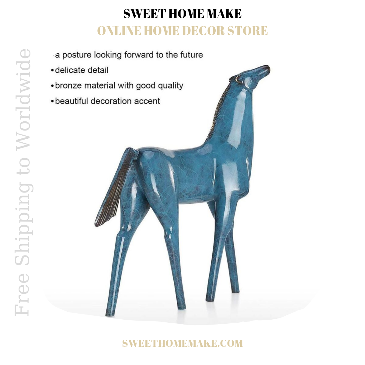 Decorative and Small Horse Statue