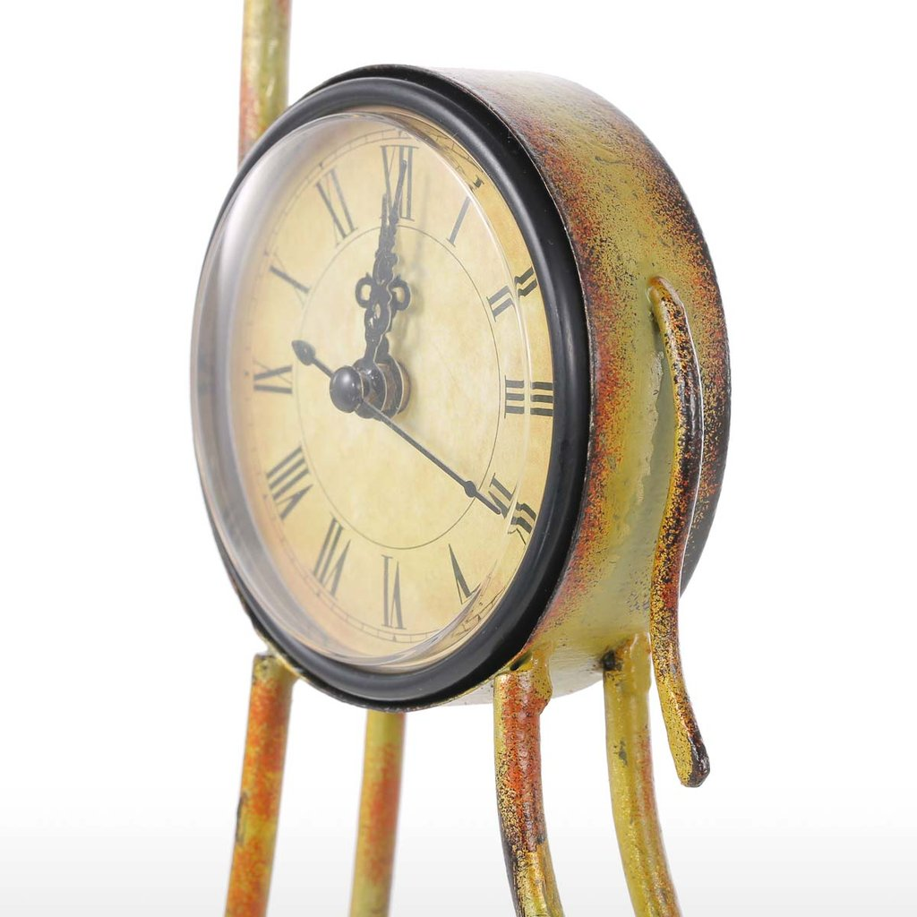 Deer Clock and Deer Antler Clock