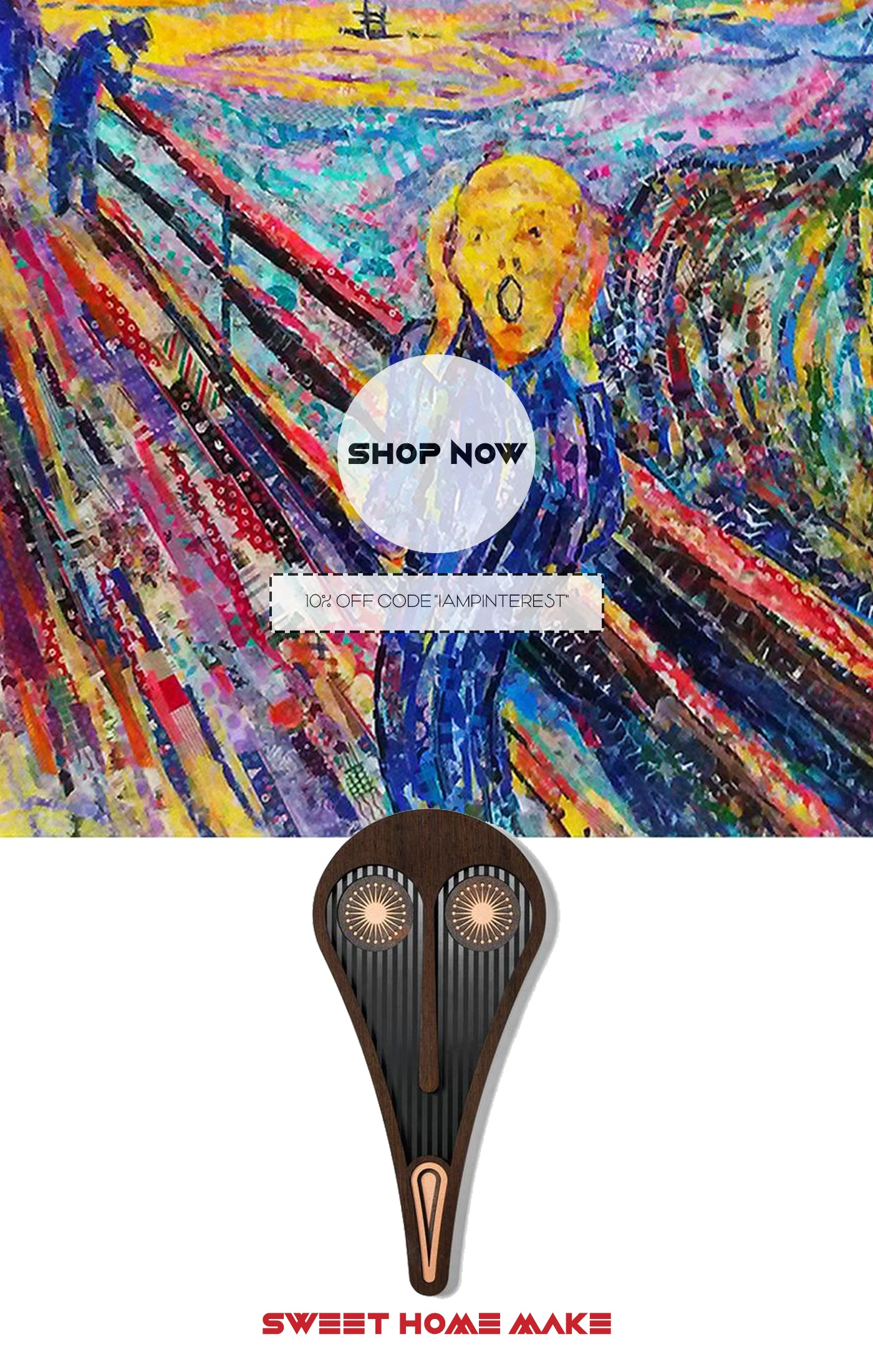 Edvard Munch The Scream inspired Picasso Paintings For Abstract Wall Decor Art