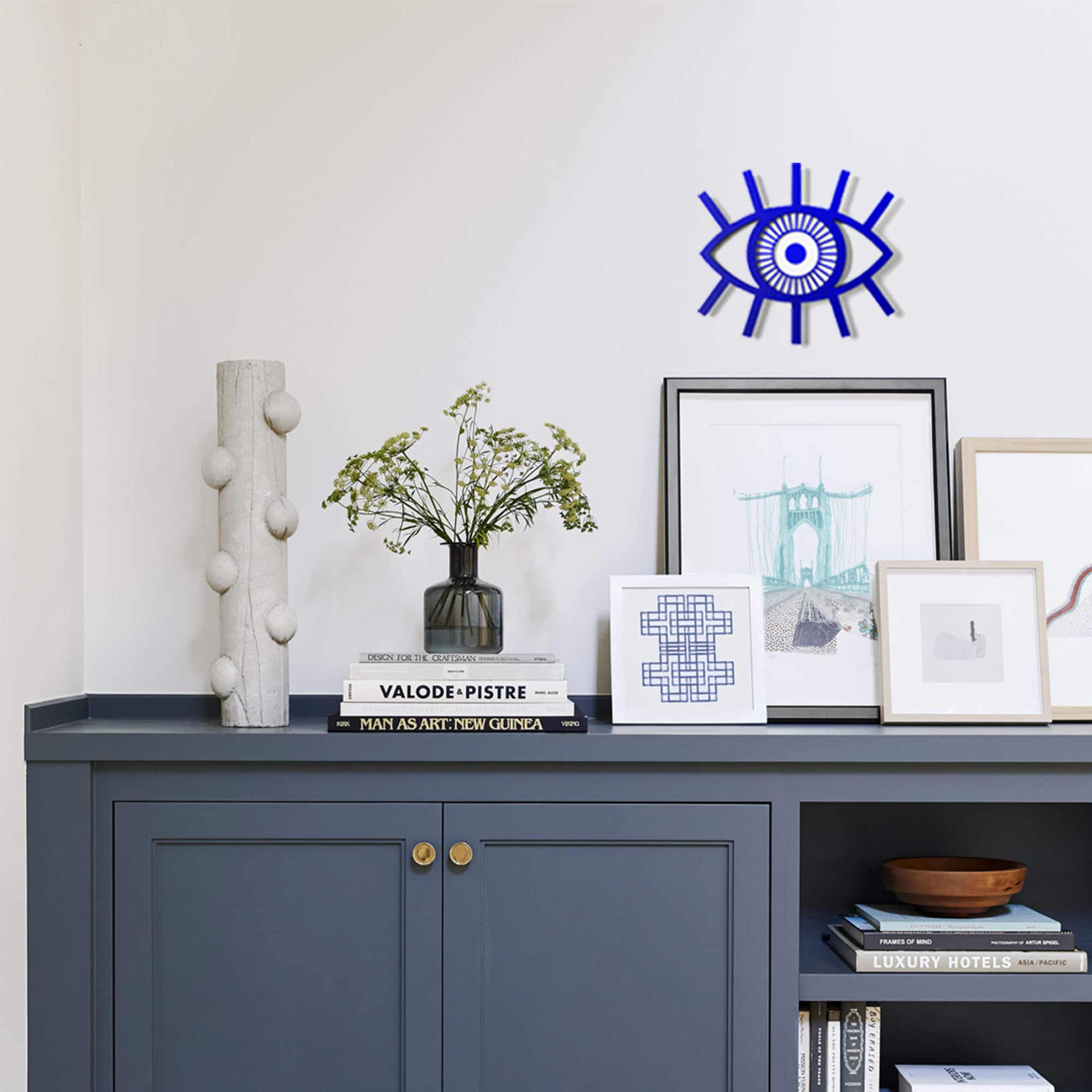 Evil Eye Wall Decor: For people who love the inclusiveness of Culture