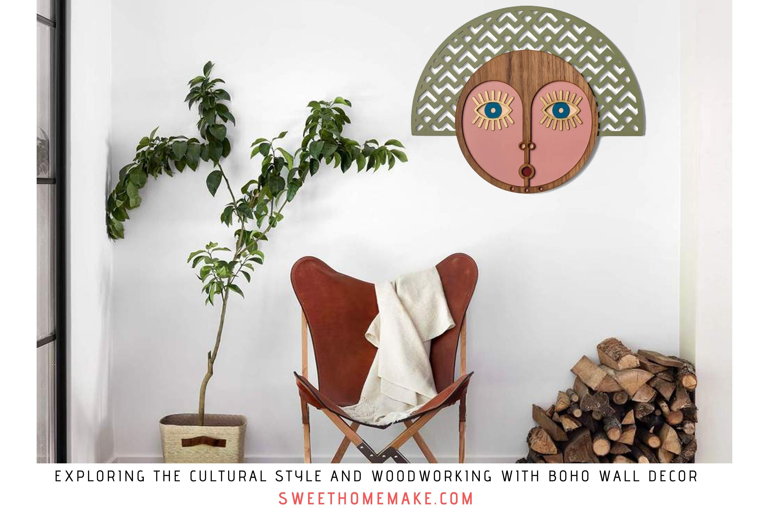 Exploring the Cultural Style and Woodworking with Boho Wall Decor