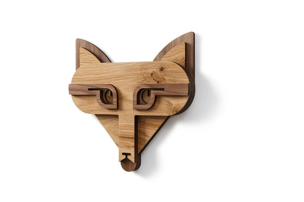 Fox Head Wall Decor and Fox Gifts for Her with Wall Art Decor