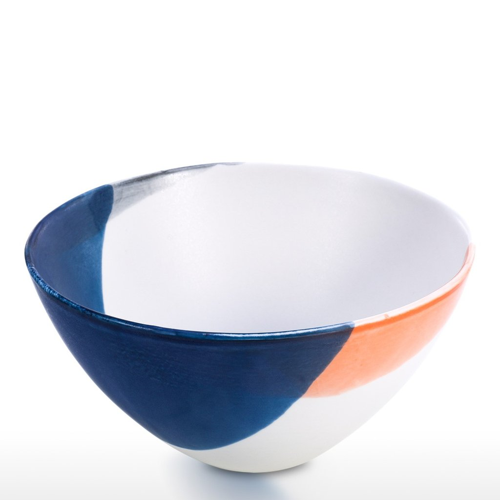 Fruit Bowl with Ceramic and Porcelain