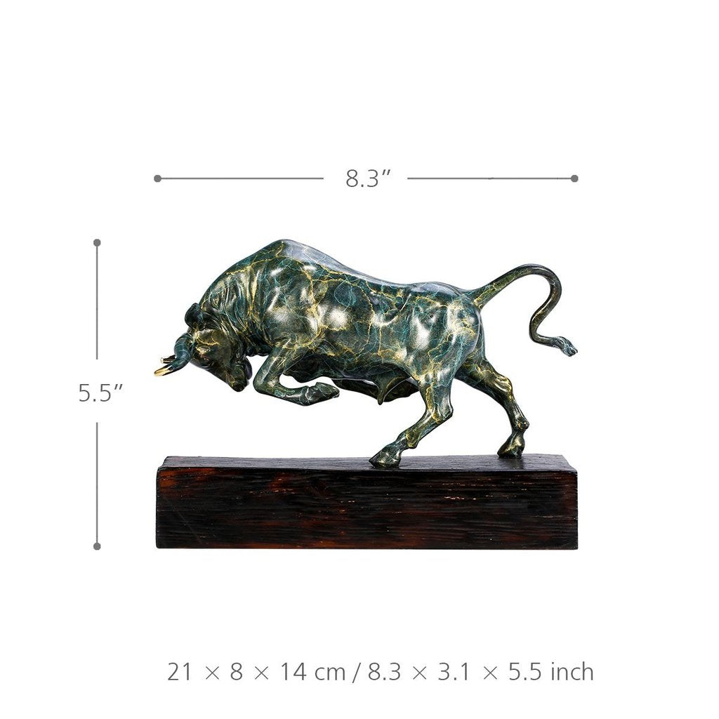 Gifts for Bull Lovers and Gifts for Rustic Decoration for Christmas Decorations