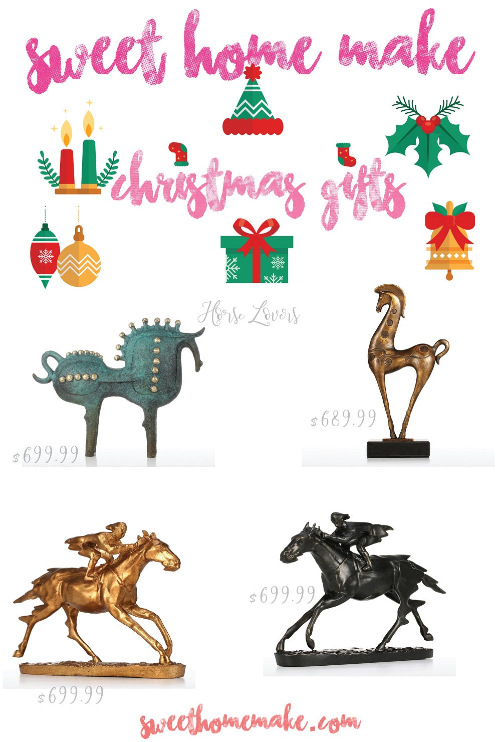 Gifts for Horse Lovers and Horse Gifts with Christmas Gifts