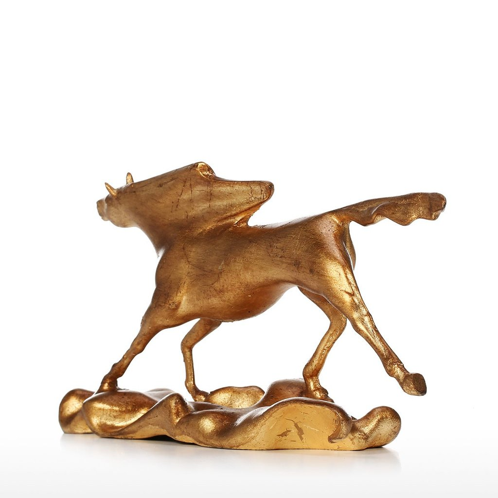 Horse Statue Home Decor with Horse Racing and Horse Riding