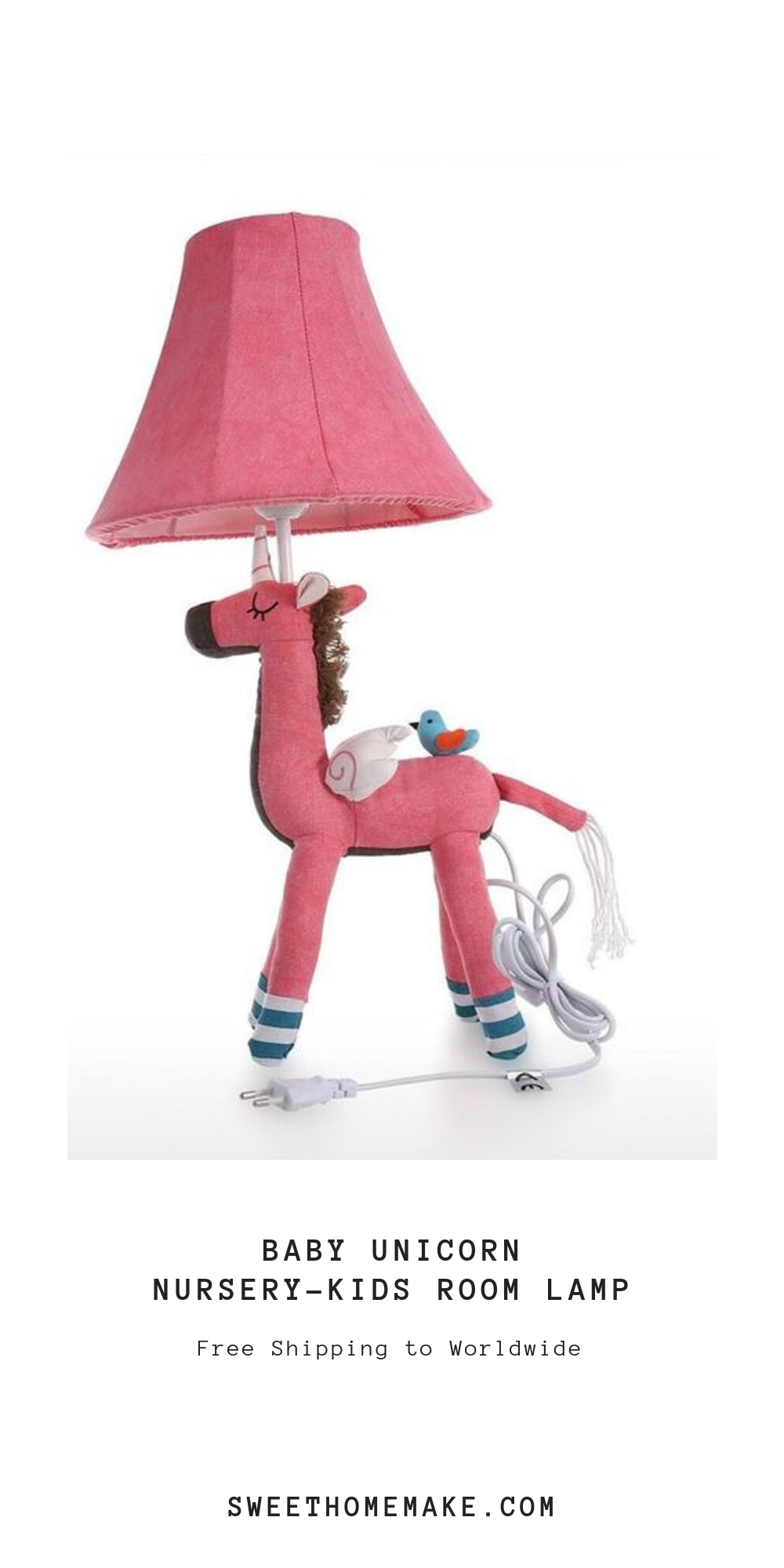 Kids Unicorn Lamp