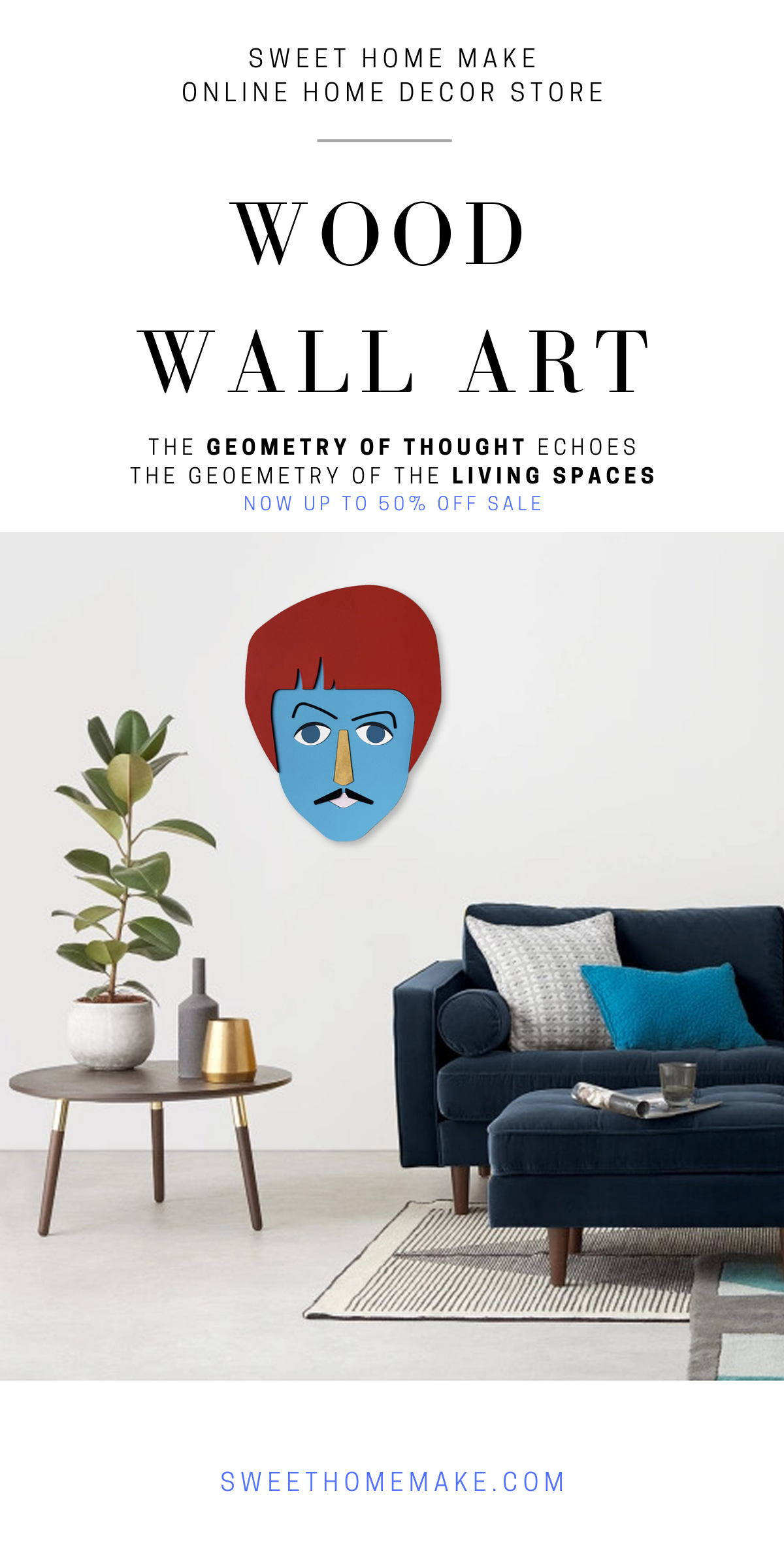 Living Room Wall Decor with Paul McCartney Wall Art