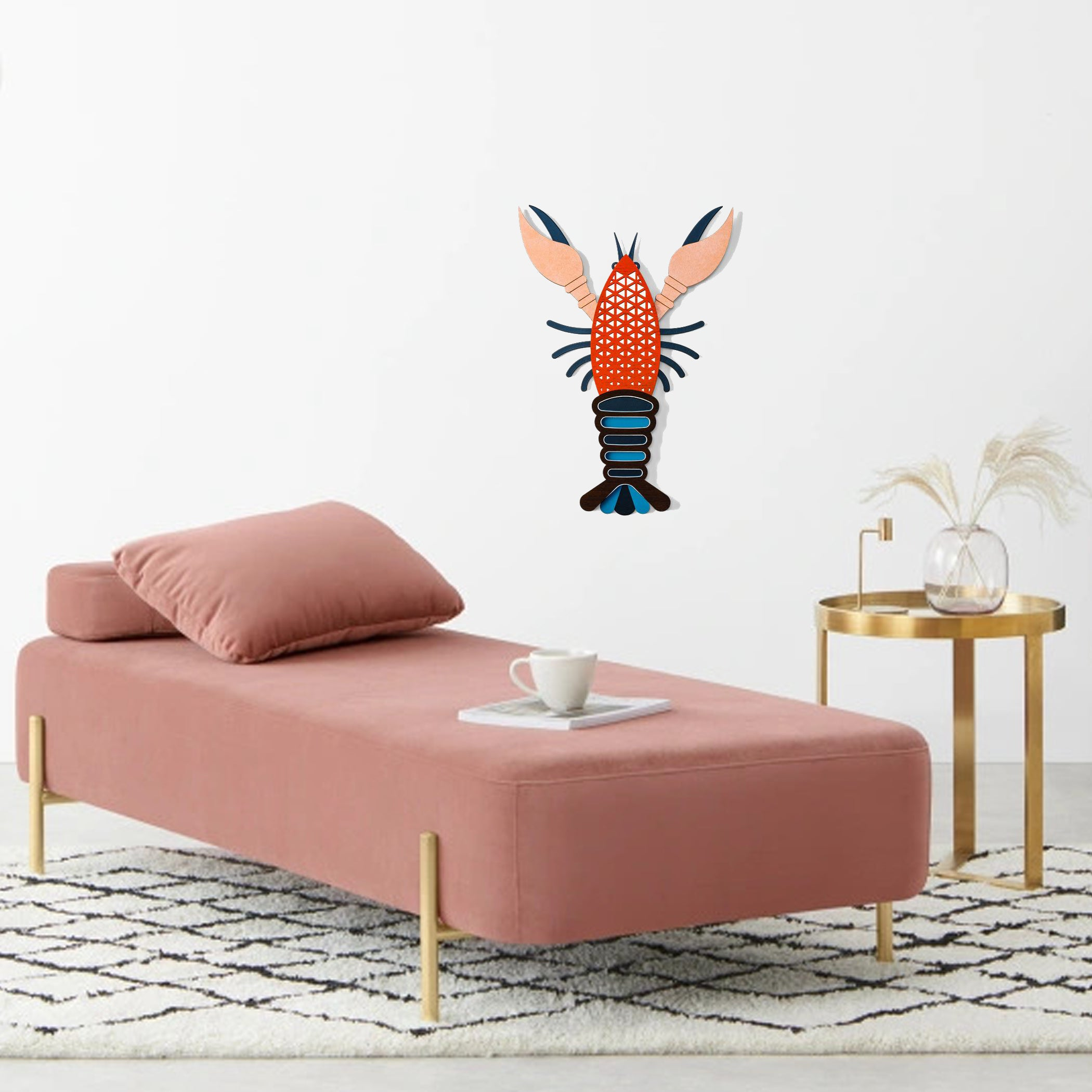 Lobster Ornaments For Wall Art