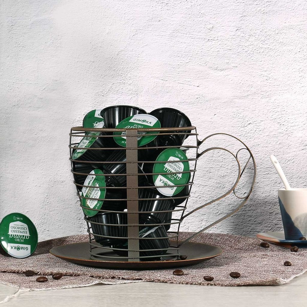 Metal Basket for Cup Holder and Fruit