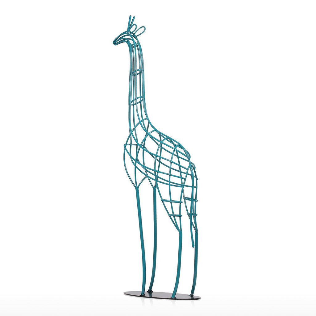 Metal Giraffe Ornaments and Metal Giraffe Sculpture for Diy Christmas Decor and Diy Christmas Ornaments