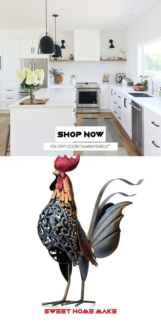 Rooster Kitchen Decor – The Sweet Home Make