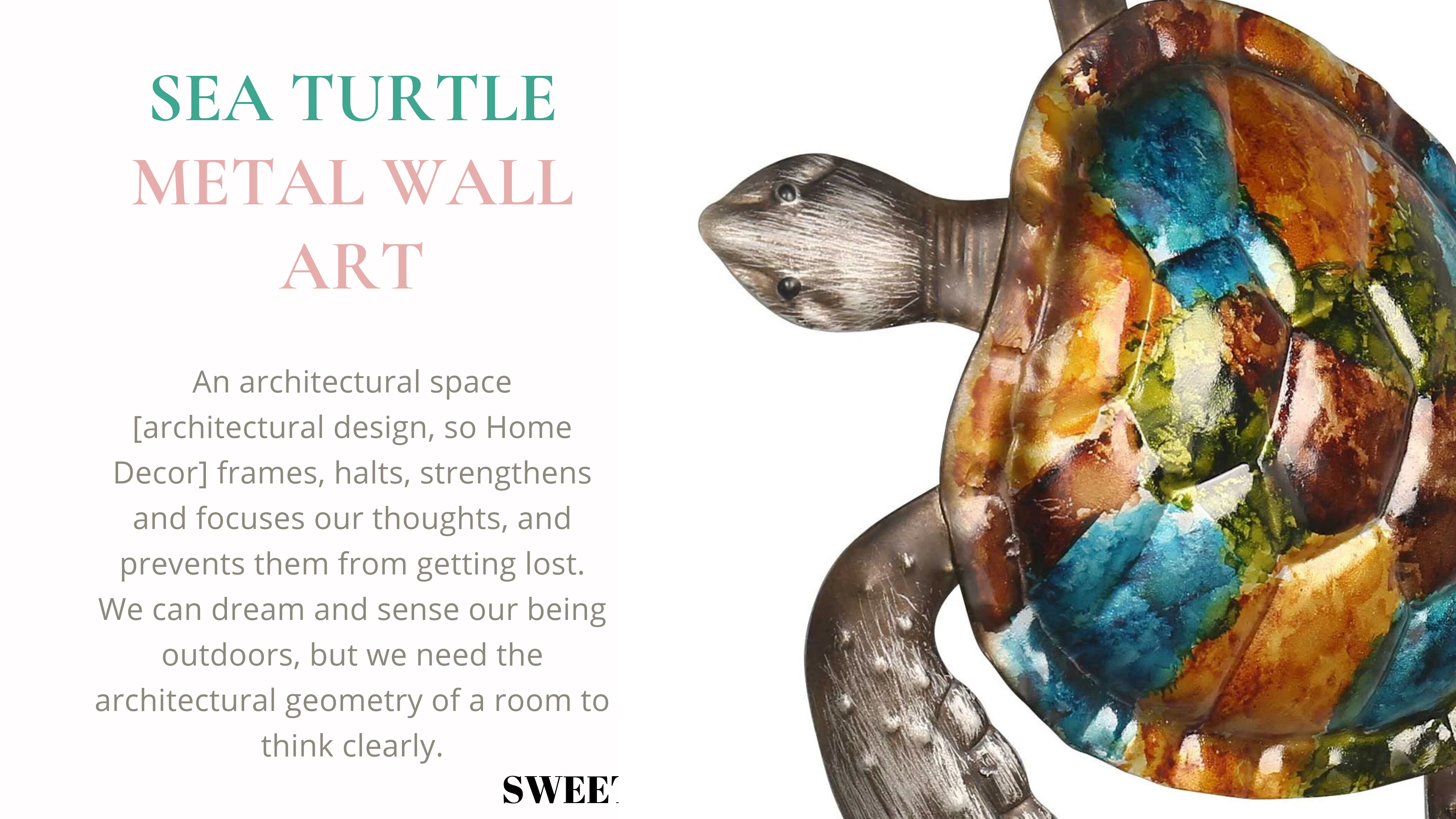 Sea Turtle Wall Art by Metal Bathroom Wall Decor