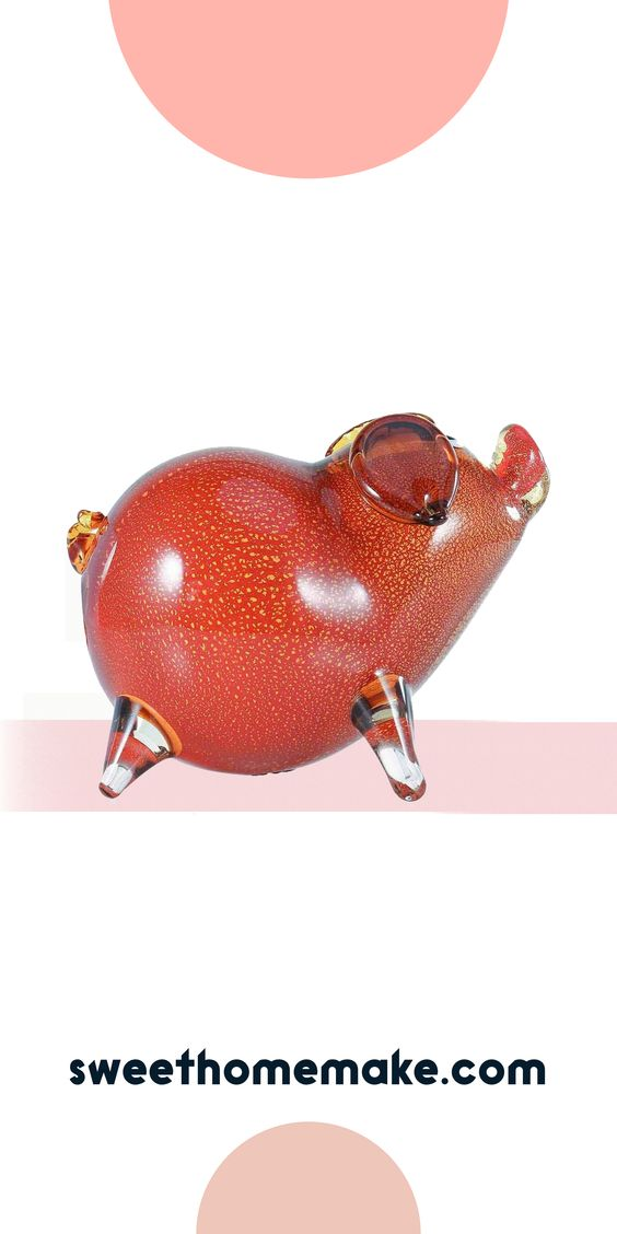Modern Farmhouse Decor For Bedroom or Entryway-Hallway Ideas with Pig Figurine