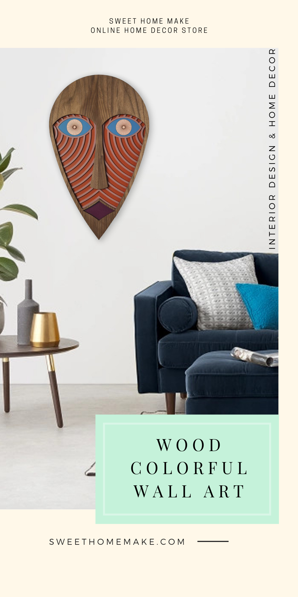 Modern and Wood Wall Art