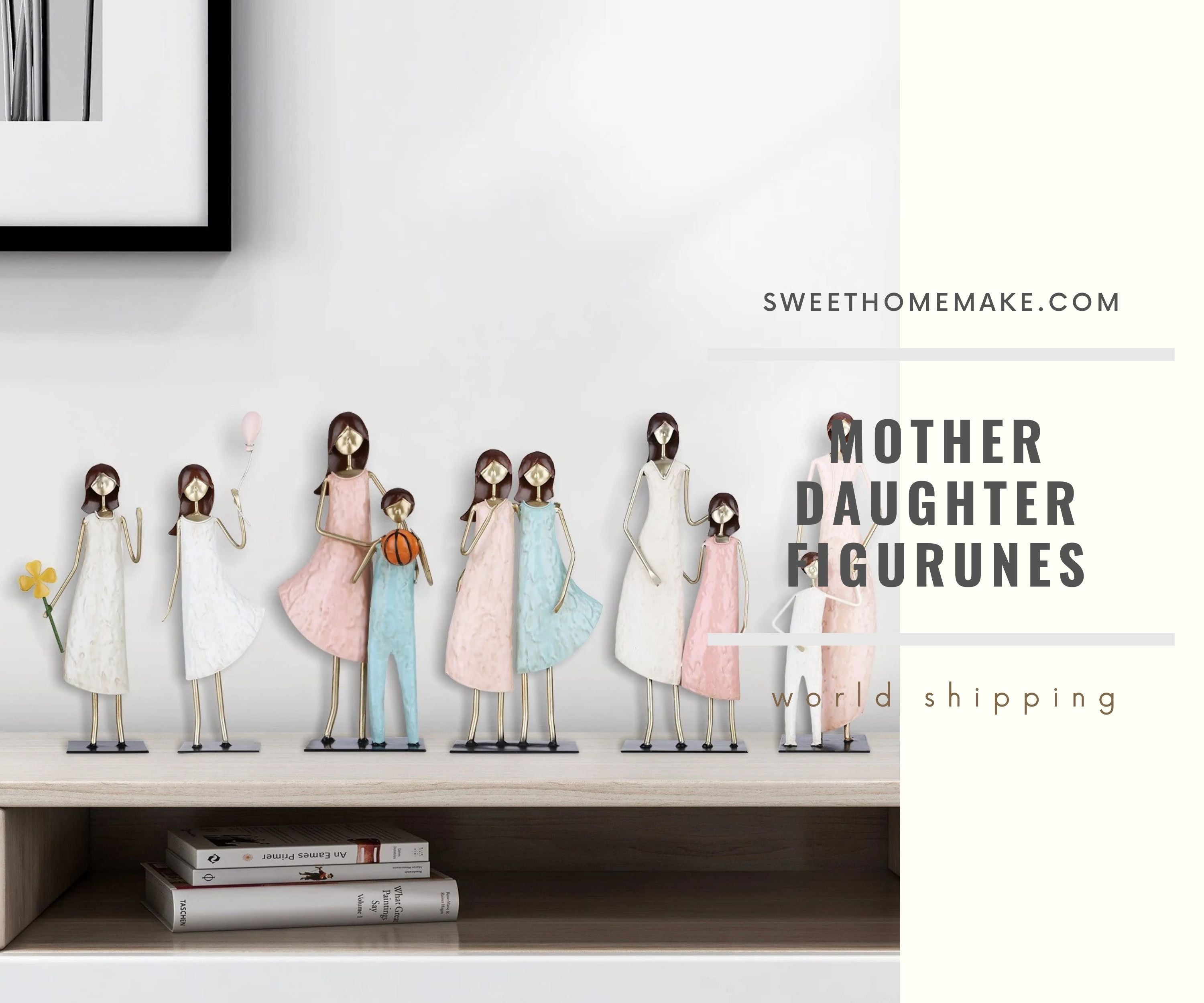 Mother's Day Figurines Gifts for Daughter