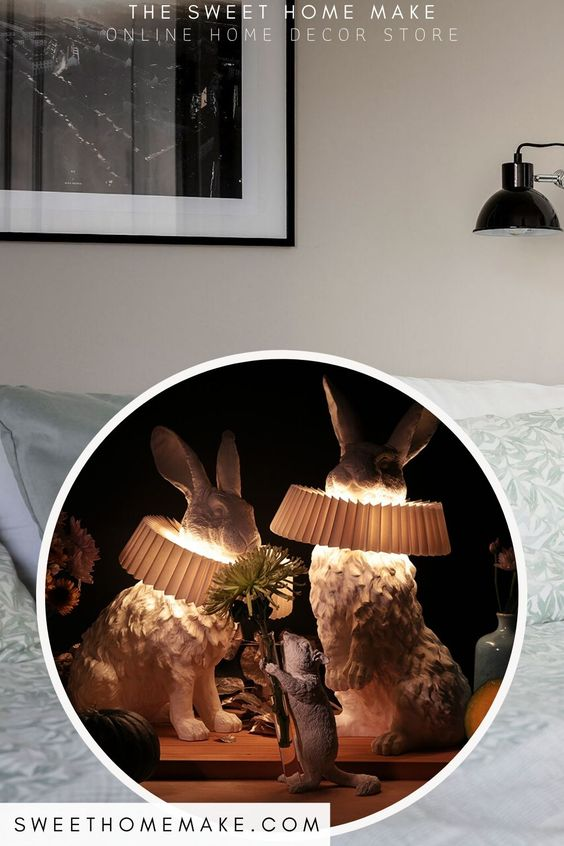 Rabbit Night Light to Bedroom Ideas and Decoration