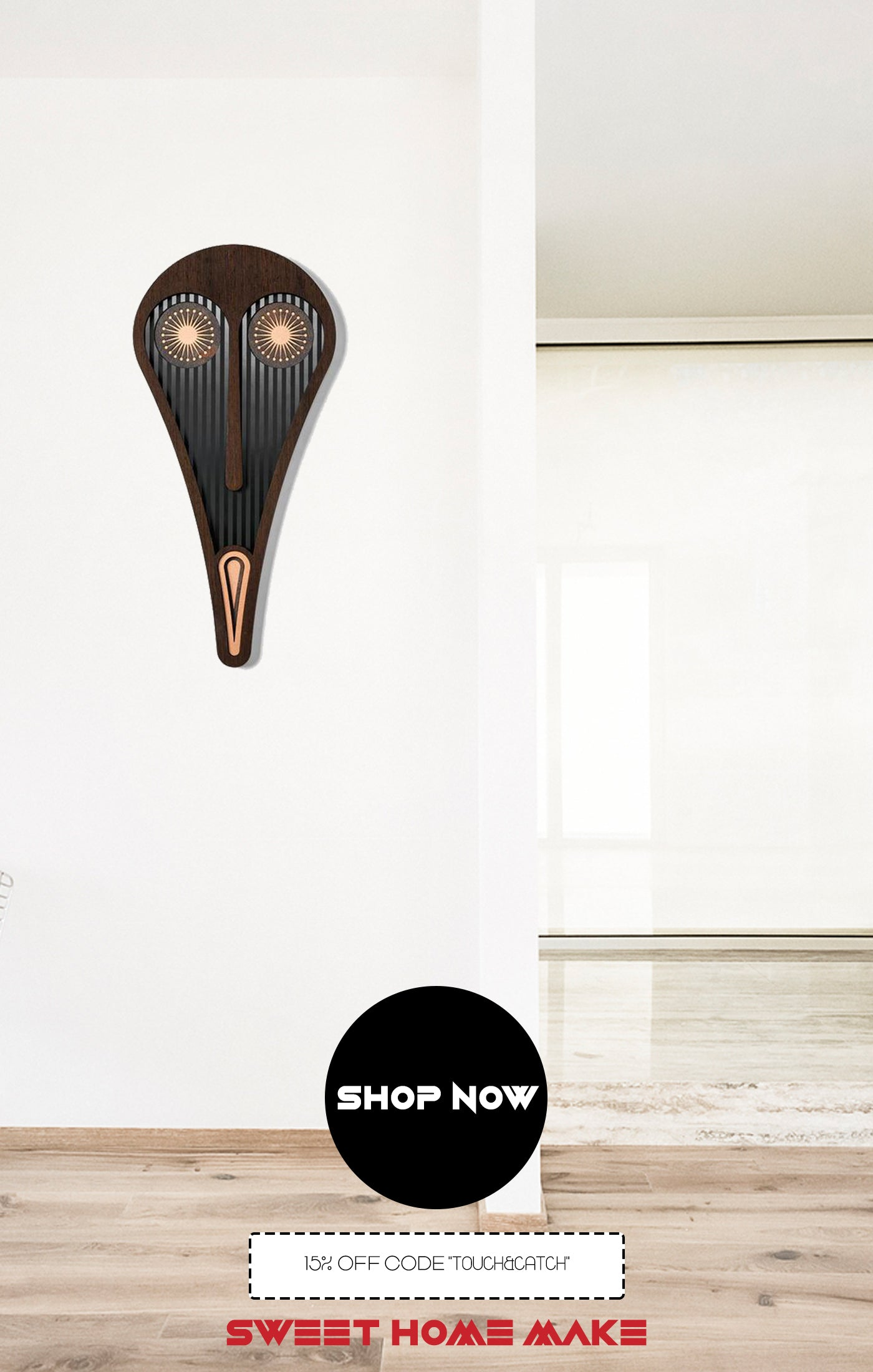 Scream Painting Wood Wall Art