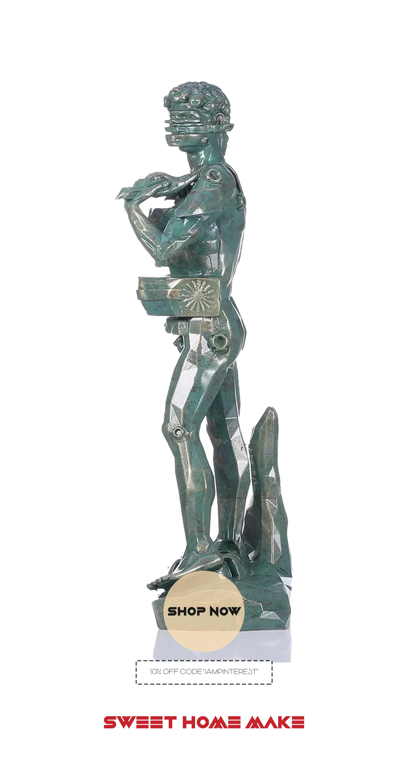 Sculpture For Home Decor with Statue of David