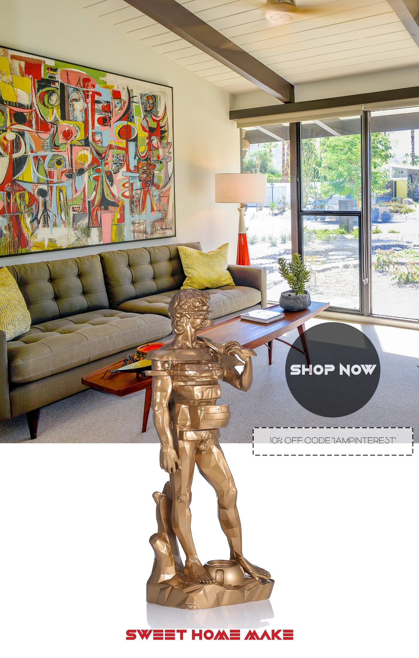 Statue Of David For Home Decor