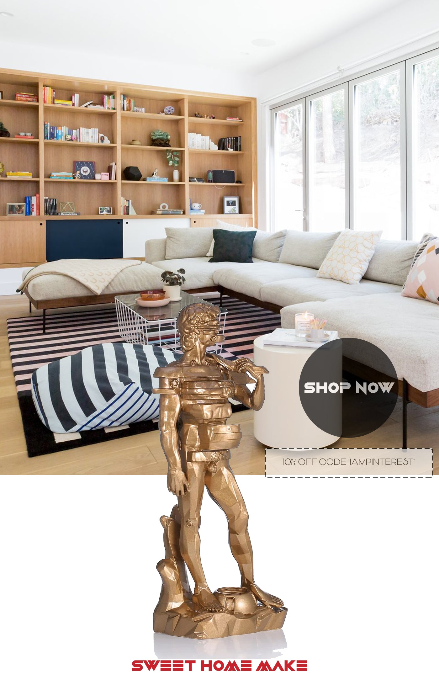 Statue of David Replica Artwork for Home Decor