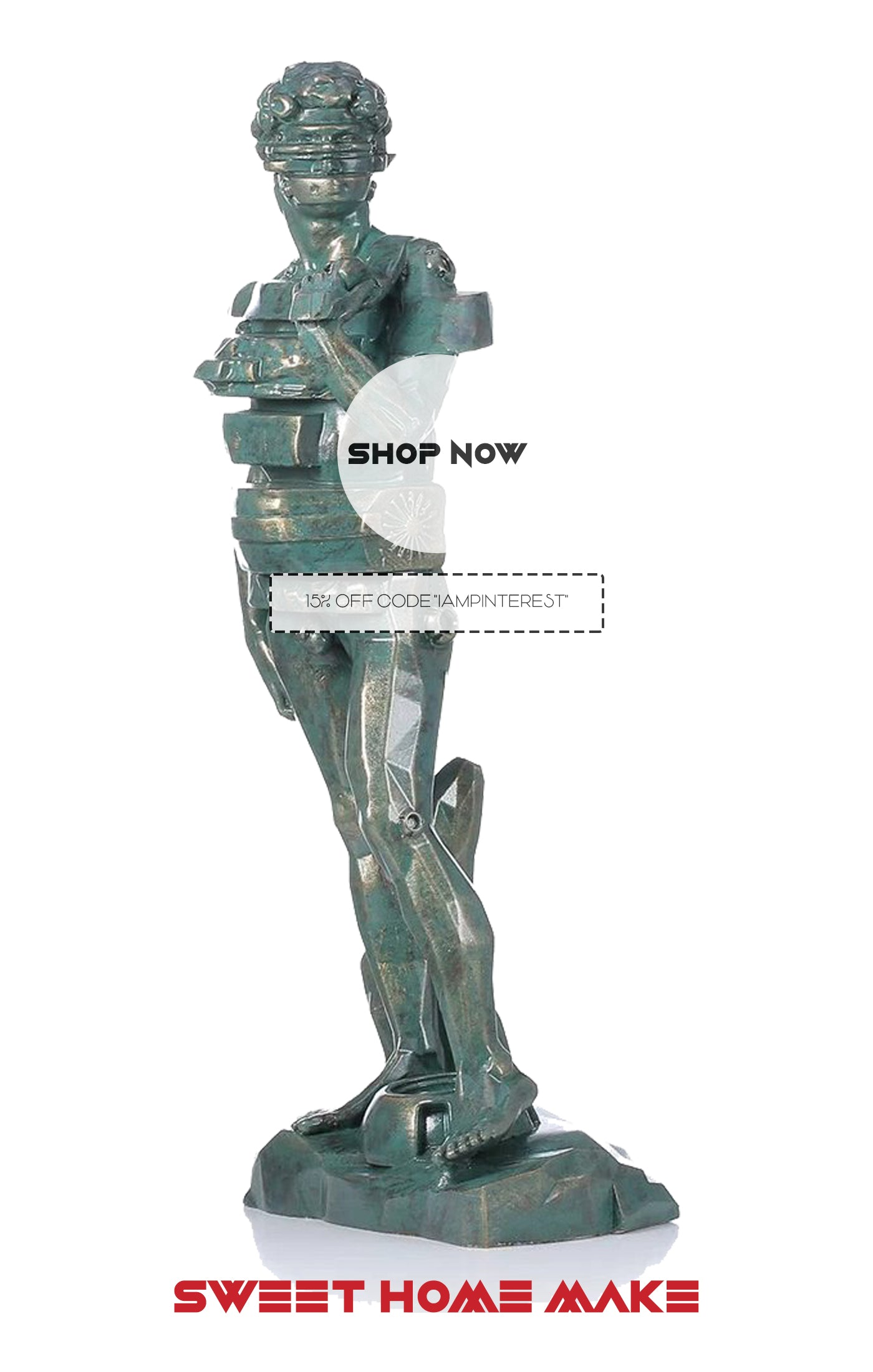 Statue of David as Home Decor Store
