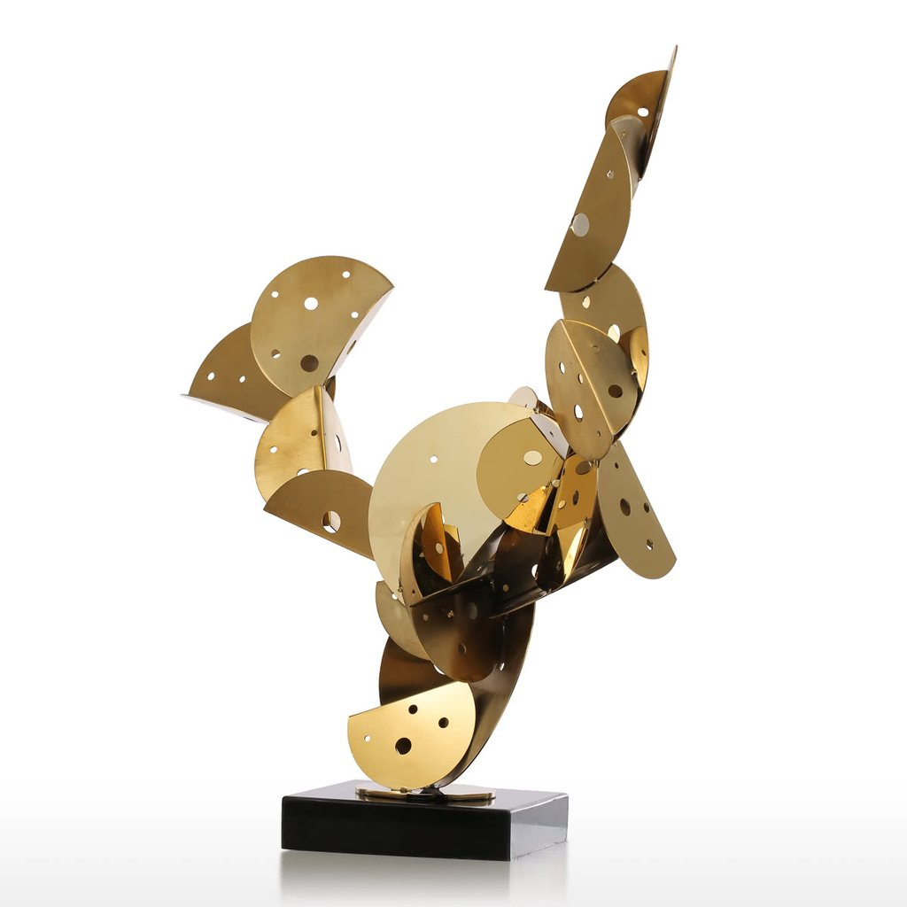 Steel Sculpture and Figurative Sculpture with Abstract and Furniture