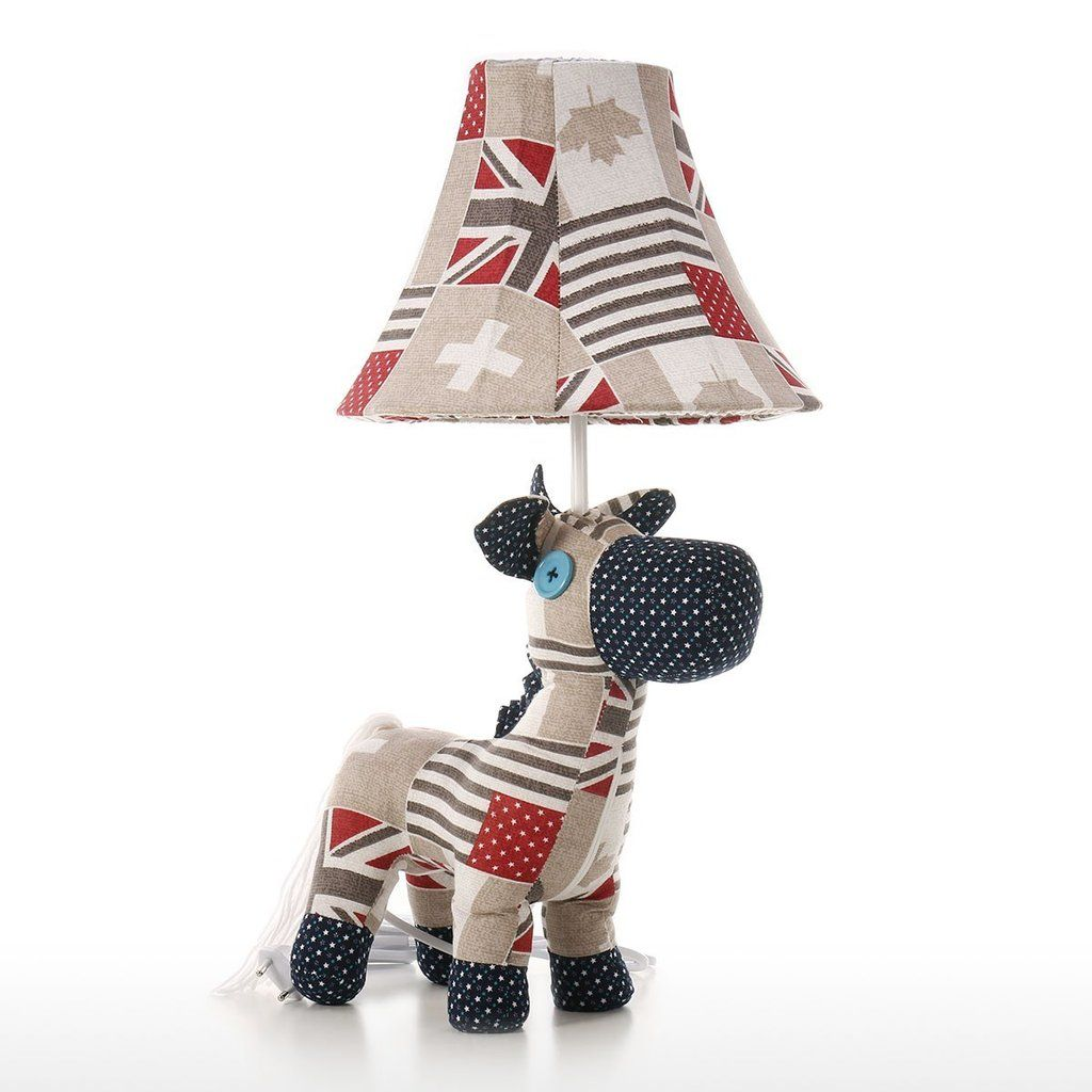 Table Lamps with Horse Toys for Nursery Decor