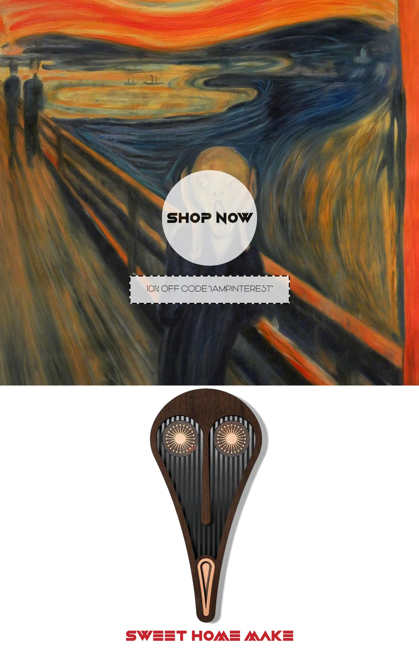 The Scream of Edvard Munch inspired Picasso Paintings For Wall Art