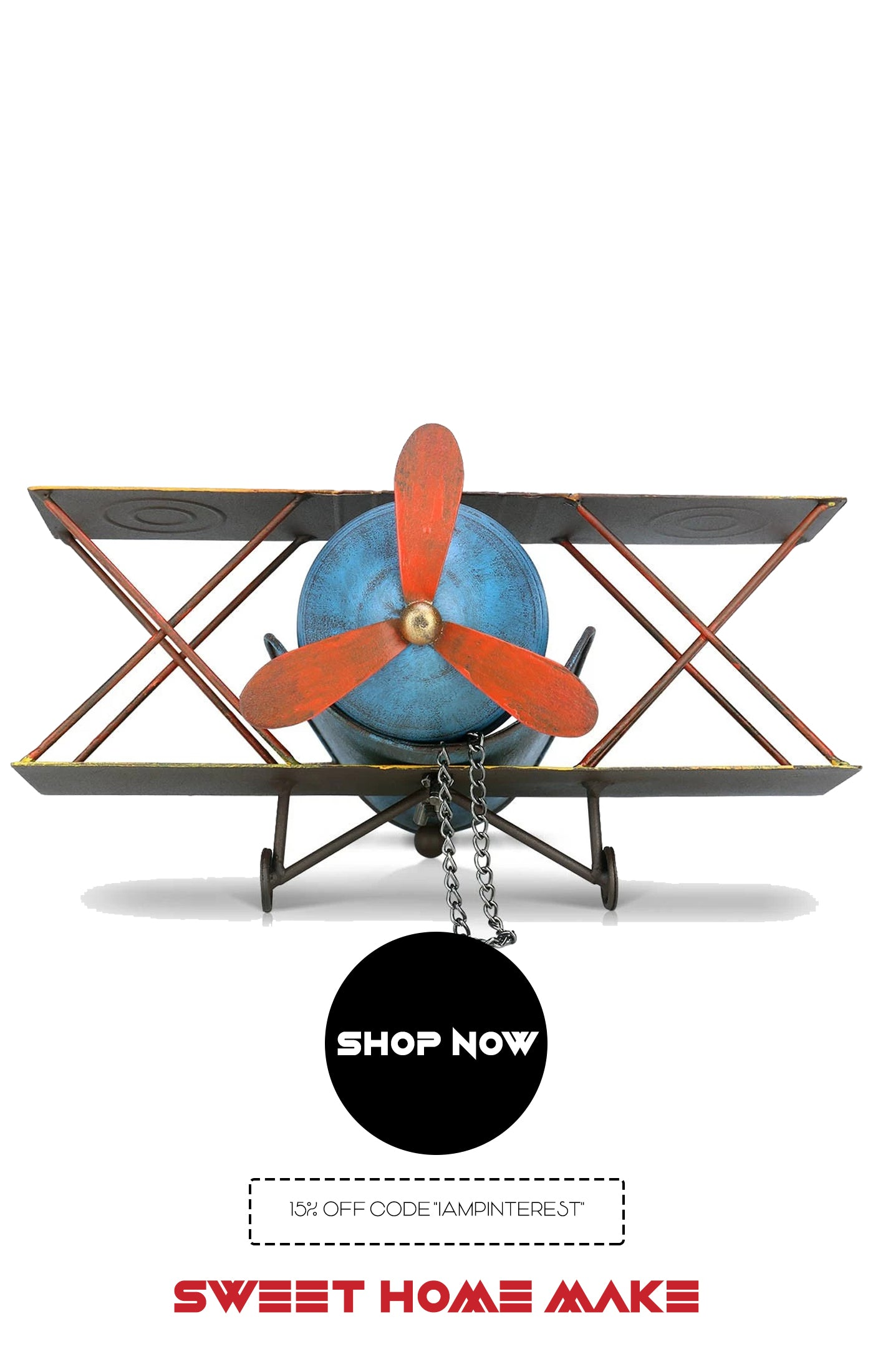 Toy Airplanes For Home Decor and Ornaments