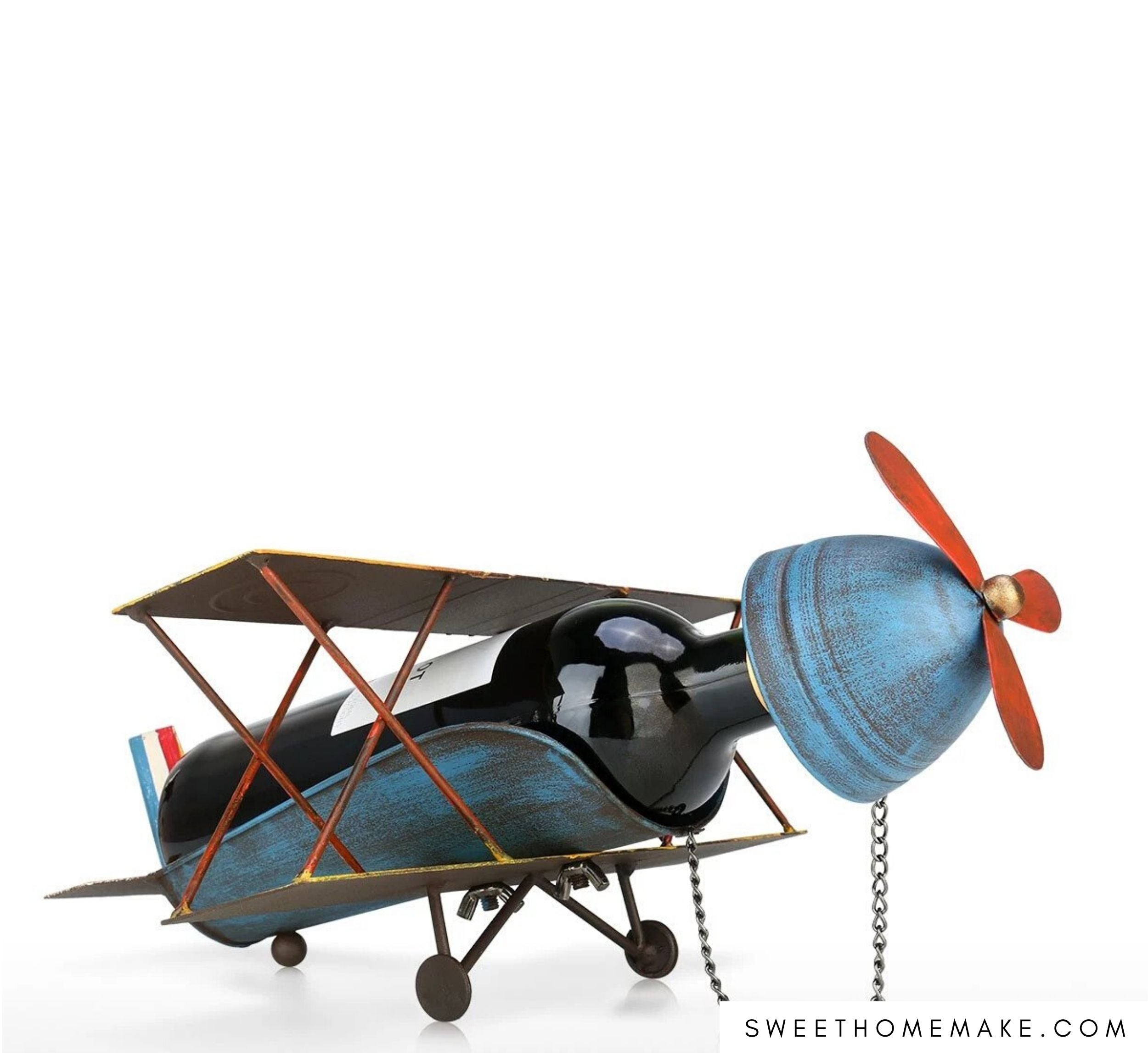 Vintage Airplane Decor in Home or Office