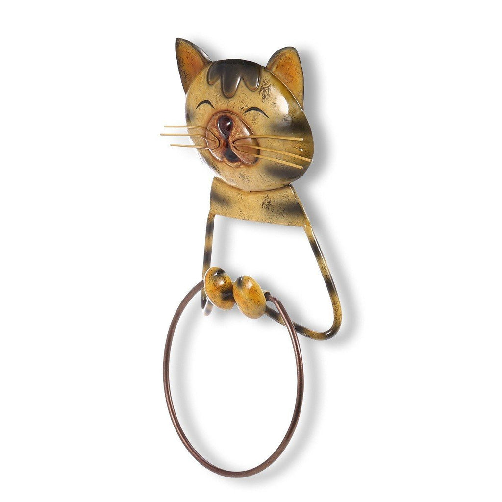 Wall Mount Paper Towel Holder with Gifts for Cat Lovers