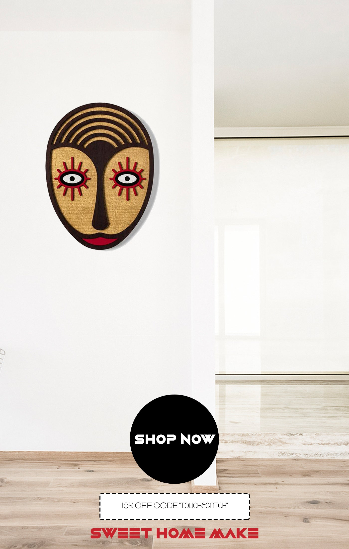 Wood Boho Wall Art