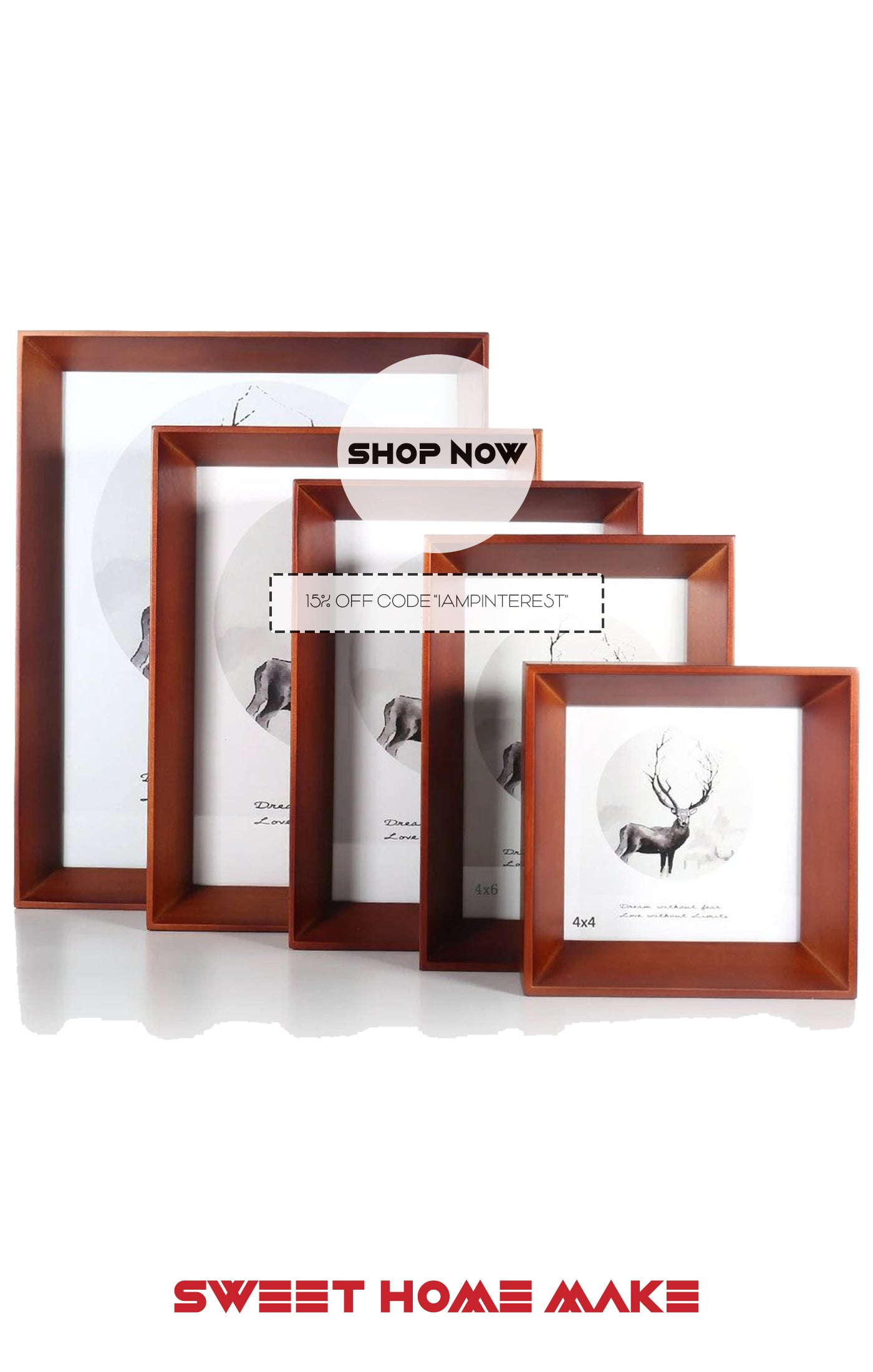 Wood Photo Frames as Home Decor Store
