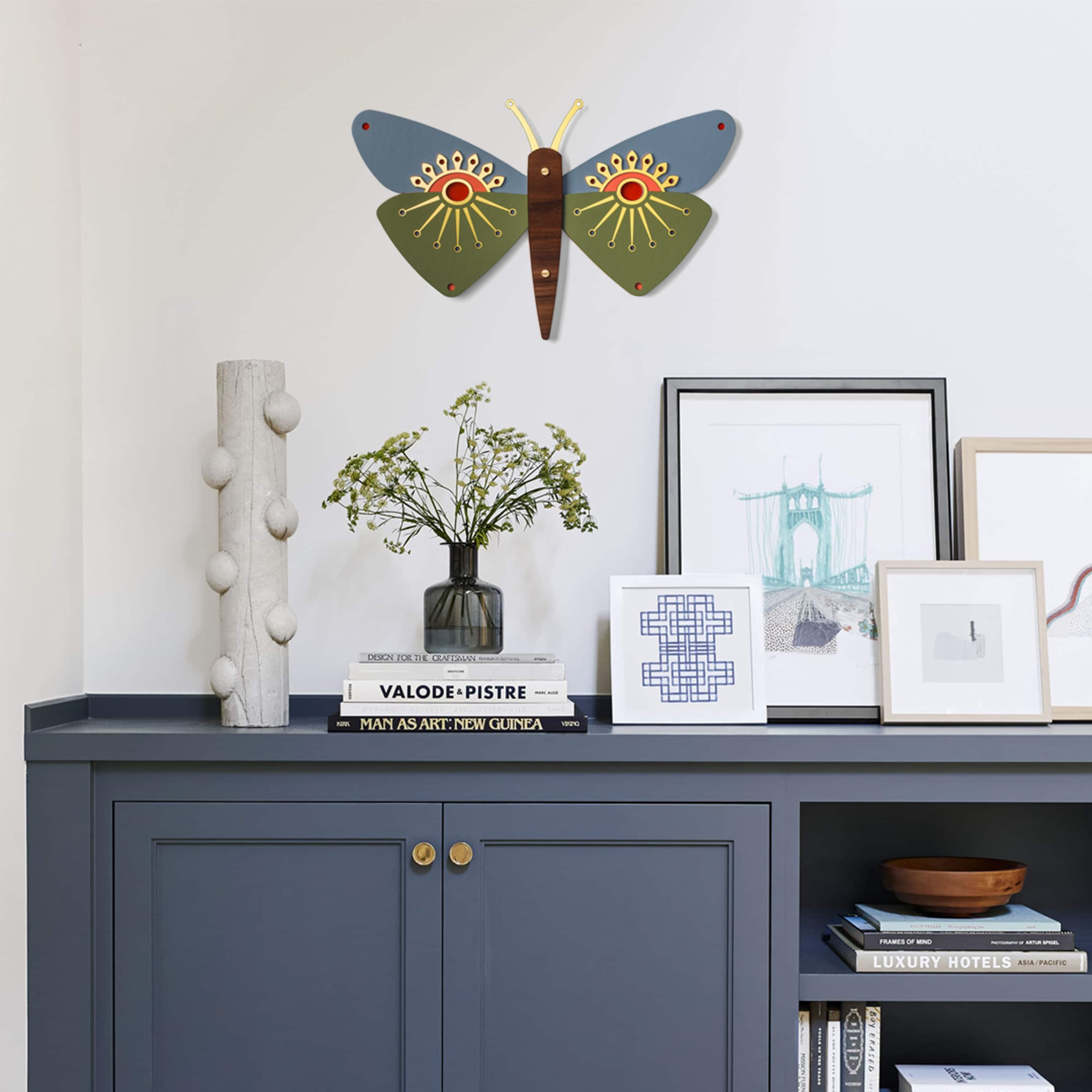 Wooden Butterfly Wall Decor