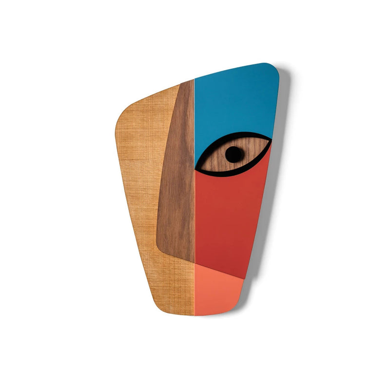 Abstract Contemporary African Masks