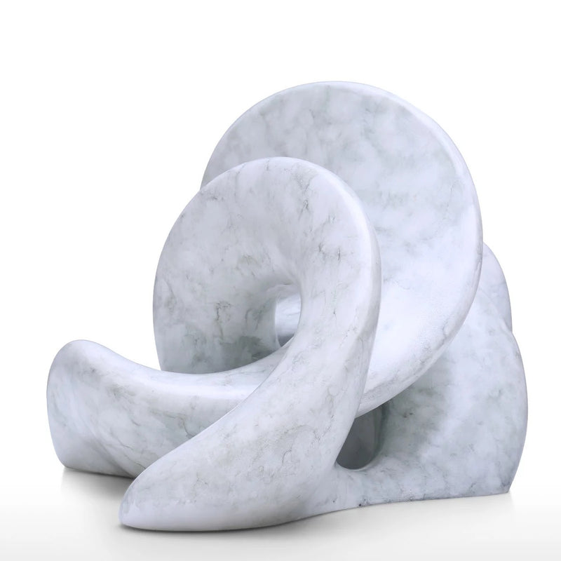 Abstract Decorative Sculpture by Resin