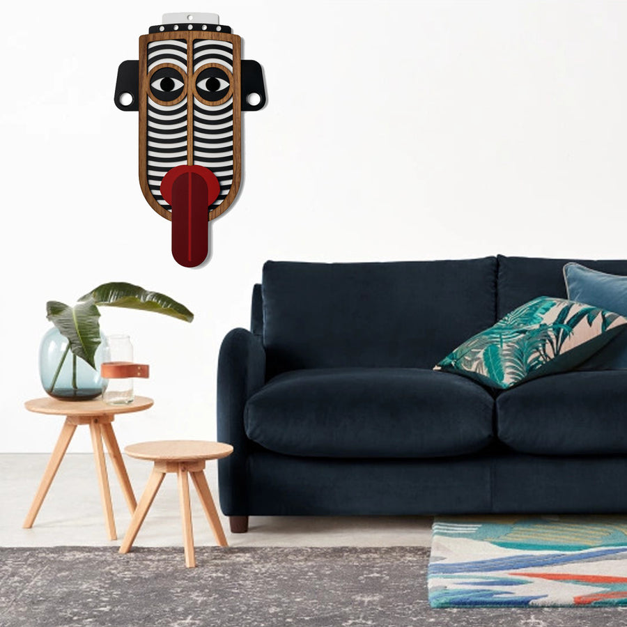 African Masks by Wooden For Living Room Wall Decor