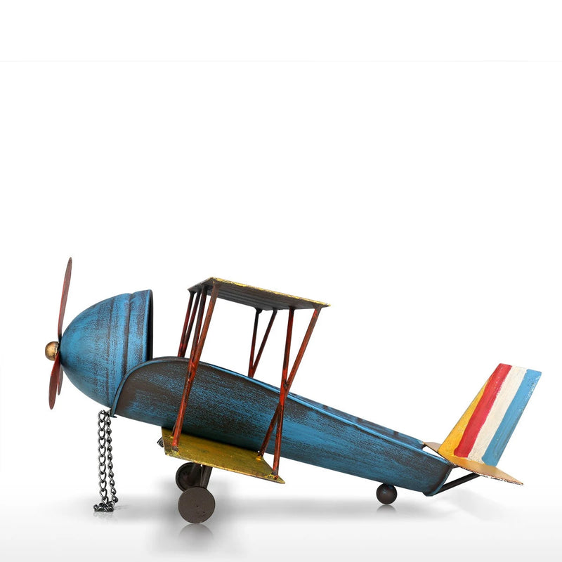 Airplane Toys and Figurines With Single and Countertop Wine Rack