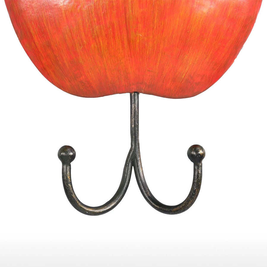 Apple Kitchen Ornament with Wall Hook For Metal Wall Art Wall DEcor
