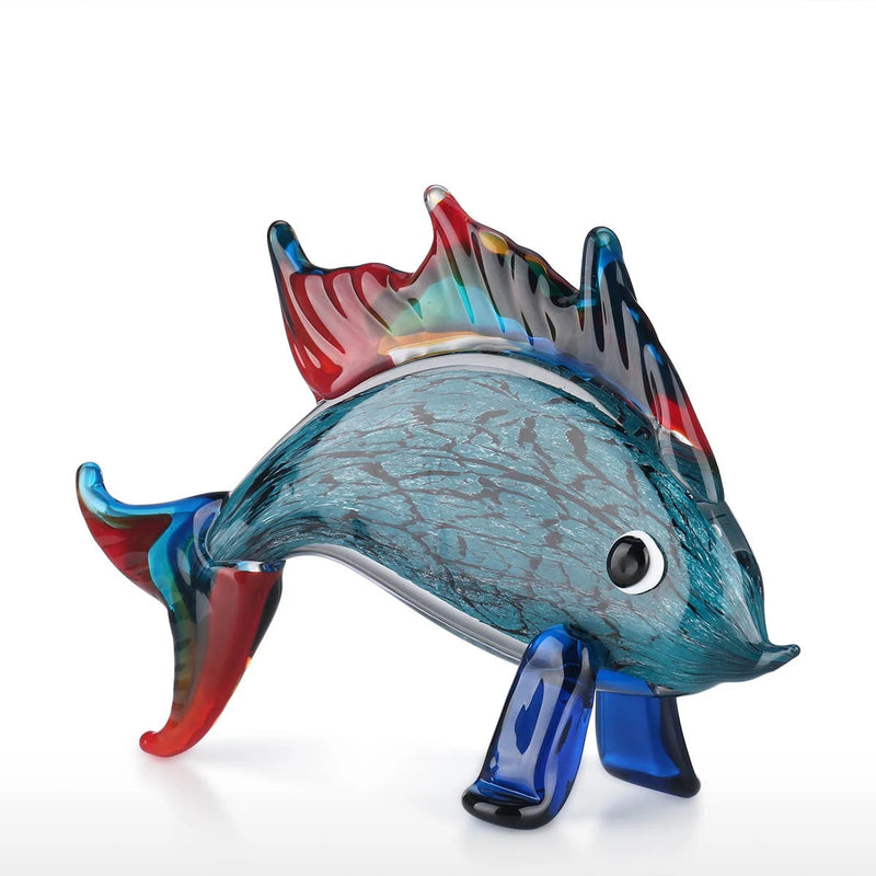 Aquarium Decor and Fish Tank Ornaments with Dolphin Fish