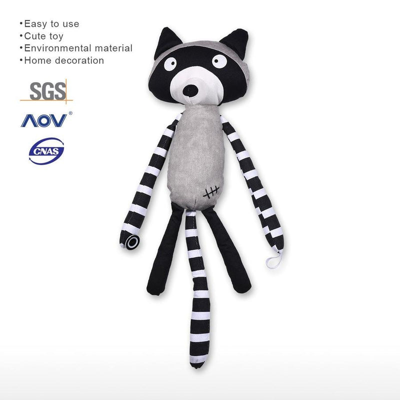 Baby Sweet Figurine Raccoon Decor, Ornament & Gifts in the Nursery