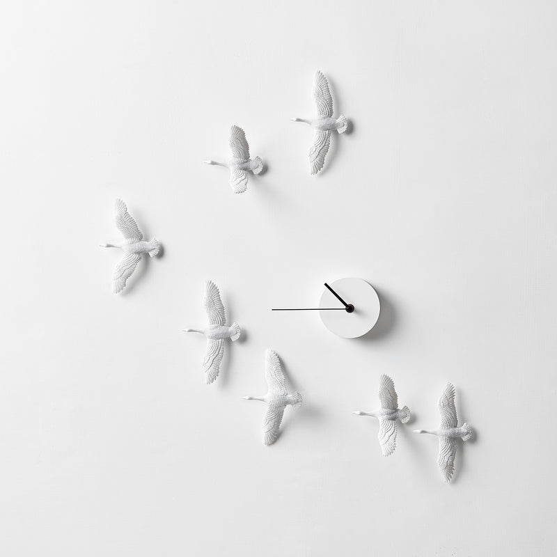 Bird Wall Clock It in the sky and home literally represent freedom