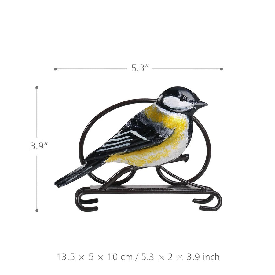Bird Metal Vintage Napkin Holder