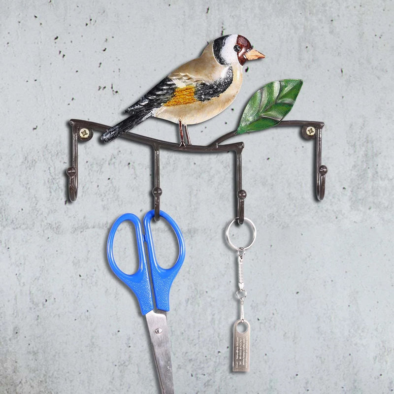 Bird Wall Art and Bird Wall Decor with Wall Hook