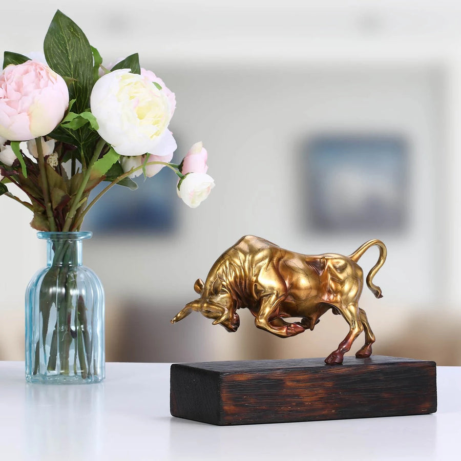 Bronze Bull Statue: From Agricultural Plantation to Farmhouse Decor