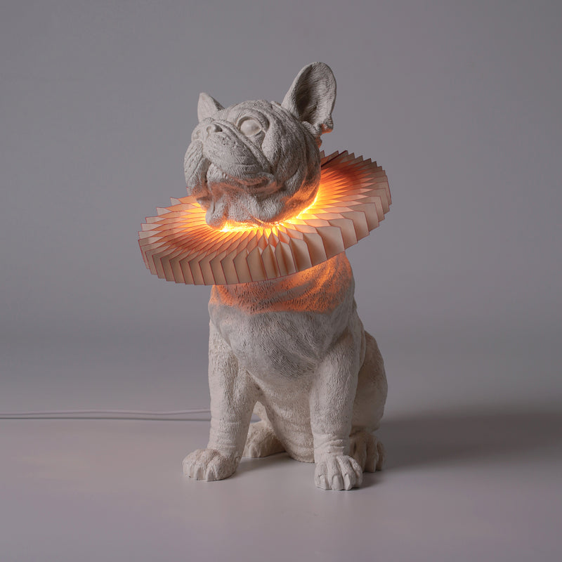 Bulldog Lamp by Haoshi Design