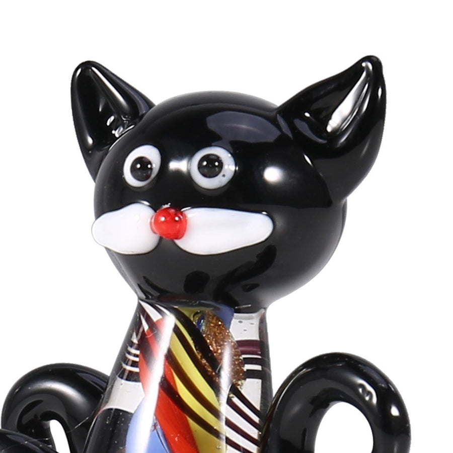 Black Cat Christmas Ornament Decor & Gifts for Cat Lovers by Angel