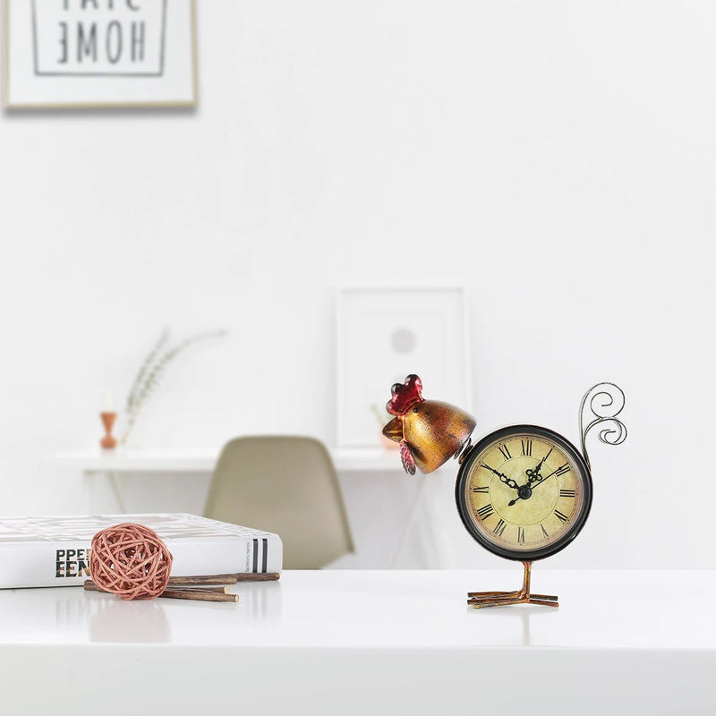 Chicken Clocks for the Kitchen and Farmhouse Decor