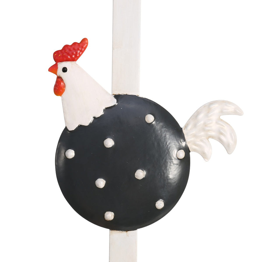 Chicken Decor and Chicken Ornaments with Door Hanger and Door Hook for Rooster Kitchen Decor